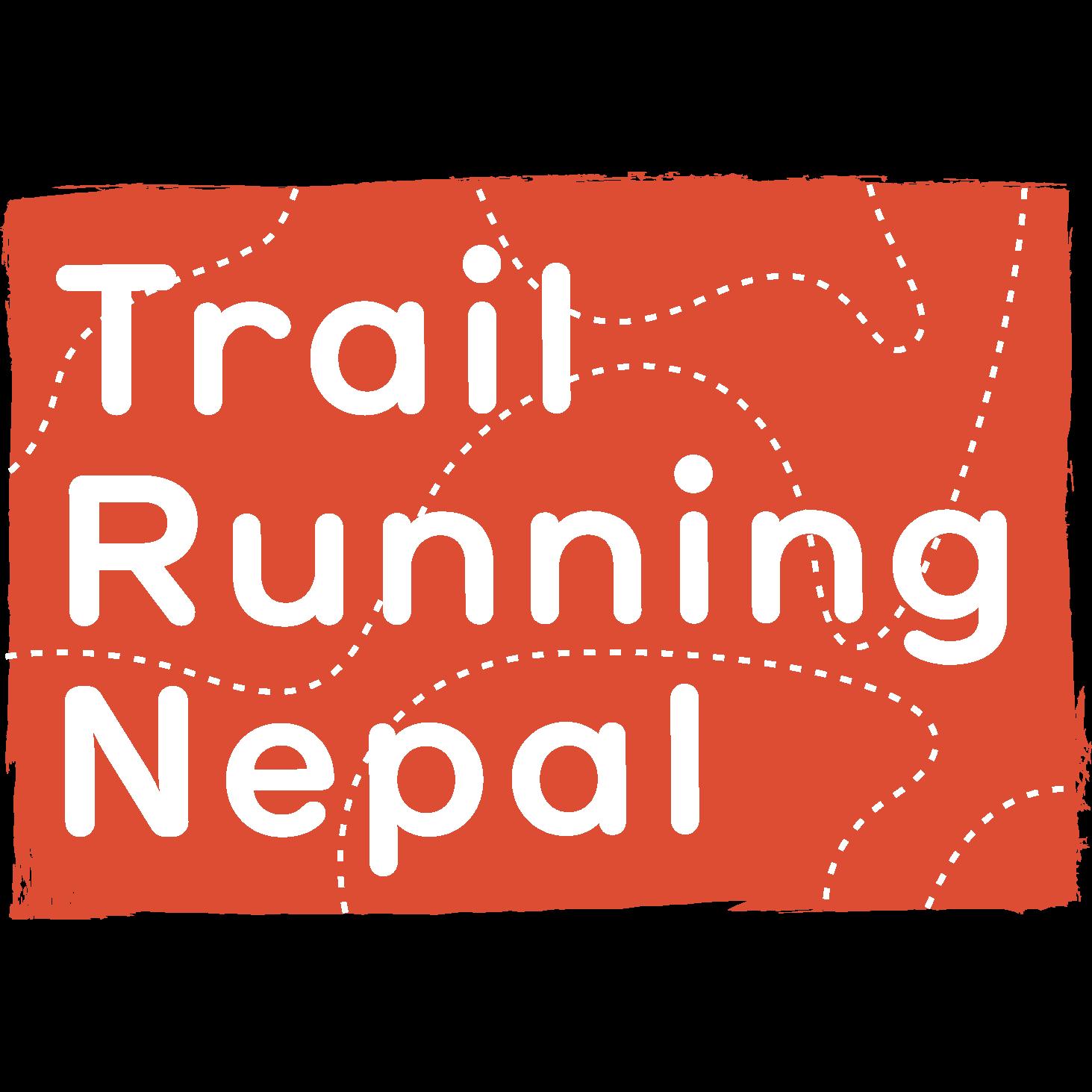 Trail running nepal logo