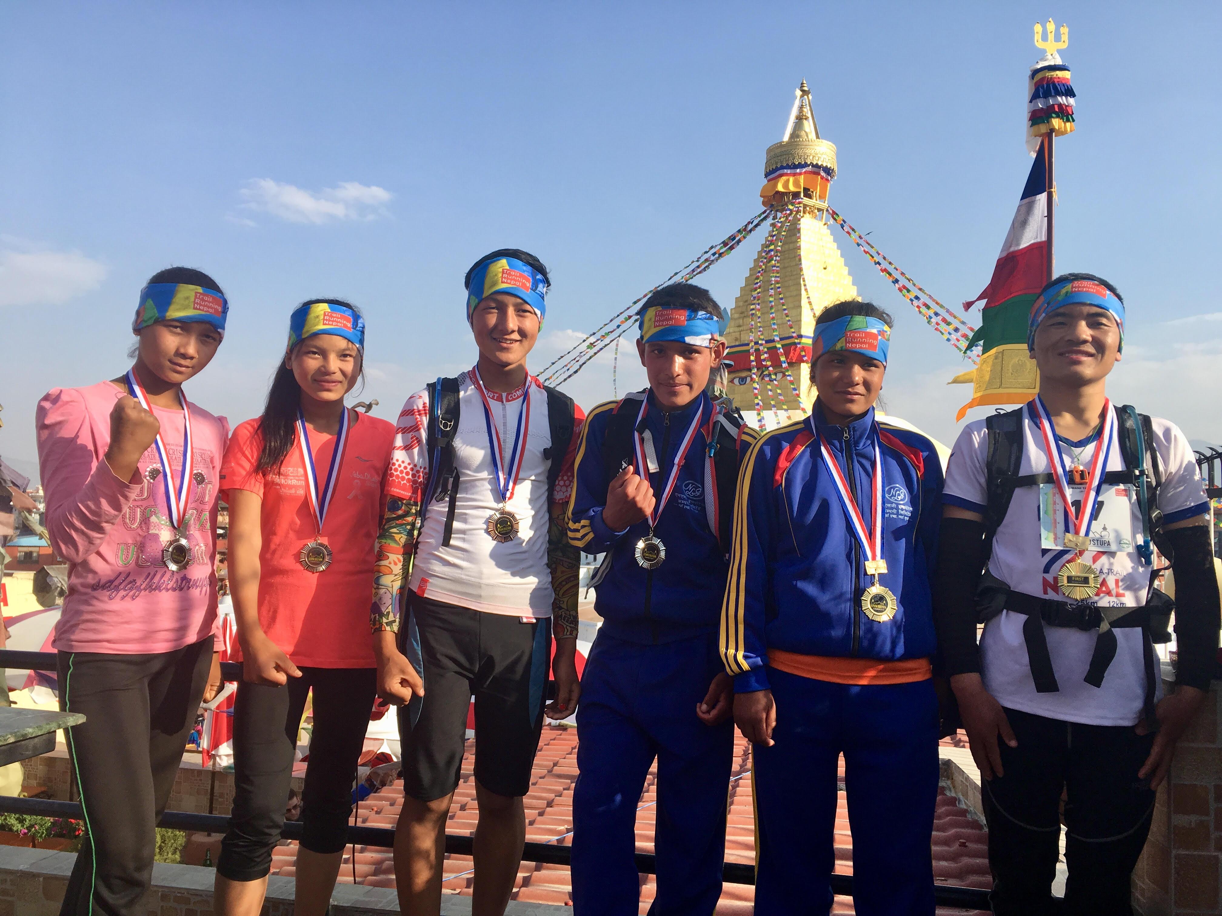 stupa ultra trail race nepal winners